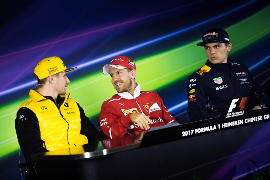 Persconferentie Chinese Grand Prix 2017